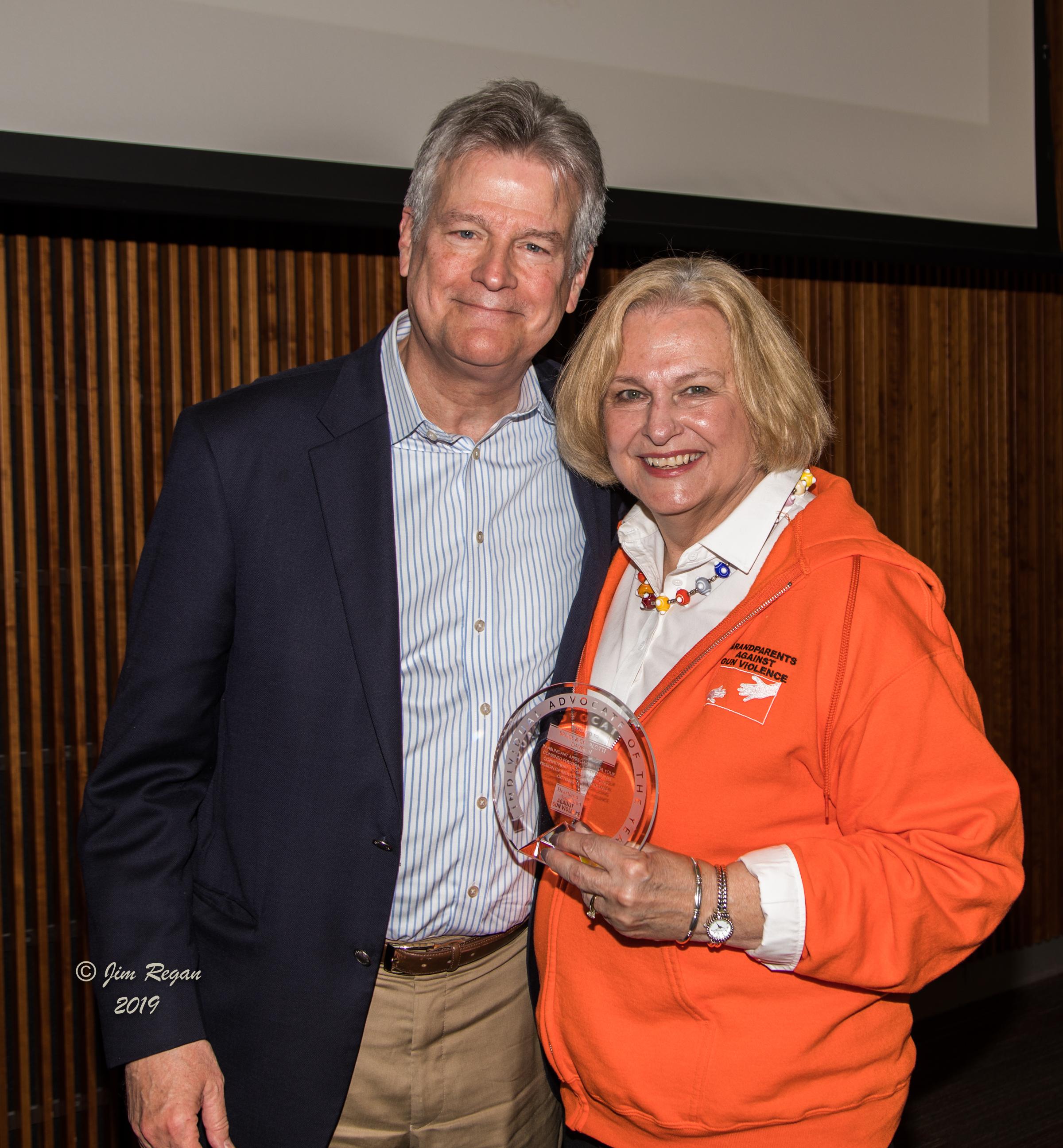 Bruce and Charlotte Davison – Individual Advocates of the Year